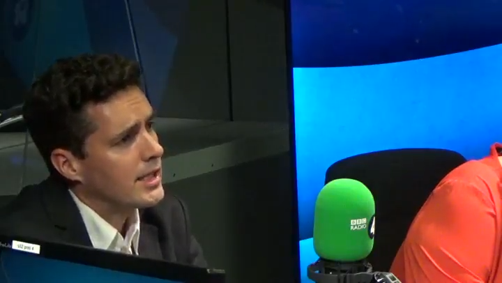 Huw Merriman said the Government needed to 'get a grip' and send a 'firm' message that schools are safe (Photo: BBC)
