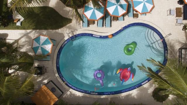 The pool at the Miami Generator hostel (Photo: Generator)