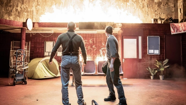 The Donmar Warehouse production of 'Europe' comes with five content warnings. Photo: Marc Brenner