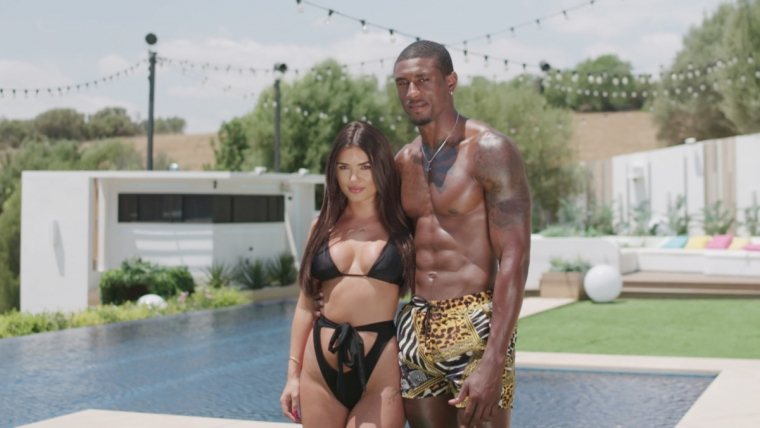 Soko and his then-girlfriend India Reynolds came third in Love Island 2019 (Photo: ITV)