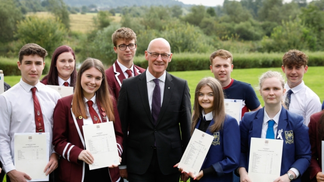 Scottish exam results: Education Secretary John Swinney said there would always be a degree of 'variation' (Photo: PA)