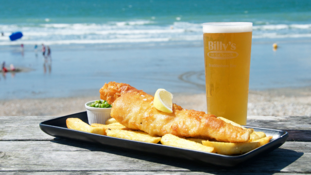 Billy's on the Beach is one of our top 50 picks for fish and chips by the sea