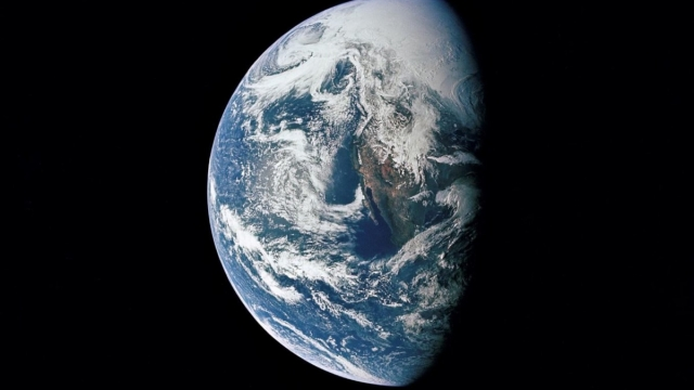 """""""Climate change is the defining issue of our time and now is the defining moment to do something about it,"""" says the UN (Photo: Nasa)"""