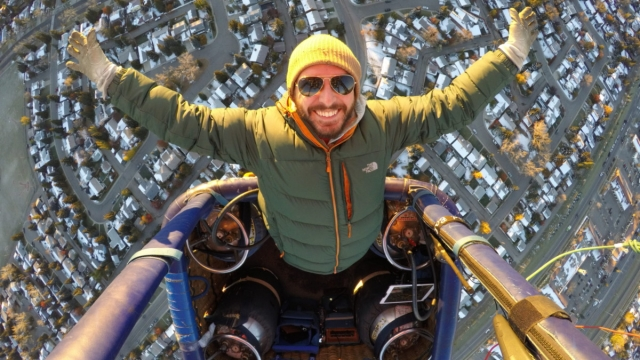 Ed Chapman will be flying the Bristol International Balloon Fiesta from 8 to 11 August