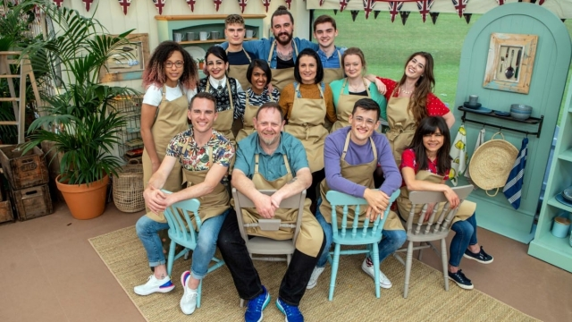 Great British Bake Off contestants