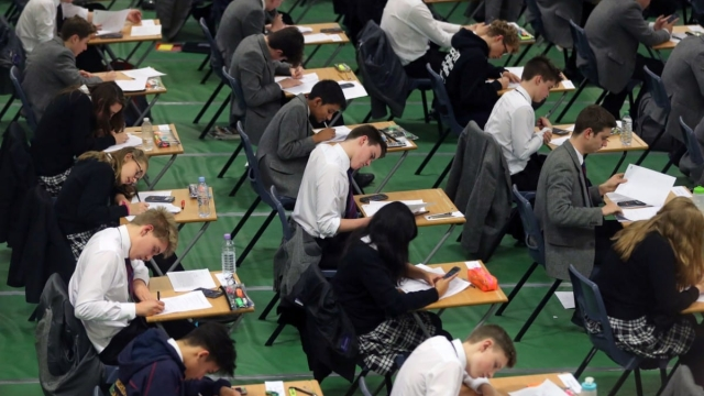 A level and GCSE leaks