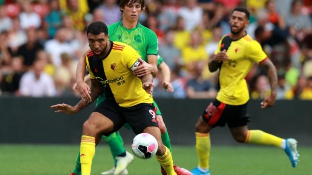 Watford players in action against Real Sociedad in pre-season