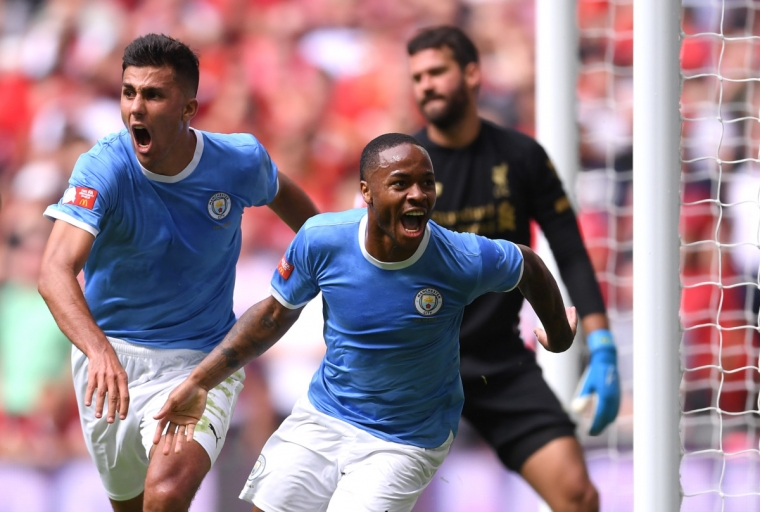 Man City won last year's Community Shield against Liverpool on penalties (Photo: Getty)