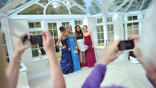 A school prom in the UK, to celebrate the end of GCSE examinations and secondary school studies (Photo: Clarke/Getty Images)