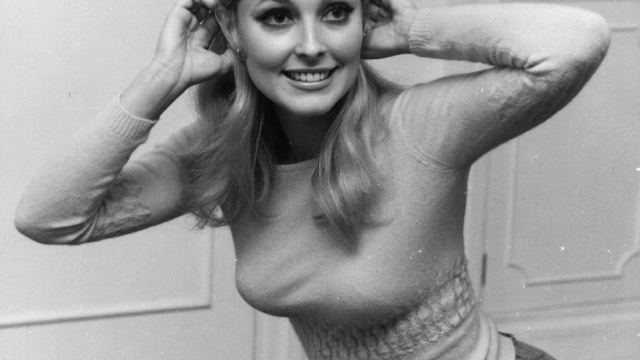American actress Sharon Tate (1943 - 1969), second wife of film director Roman Polanski, in London