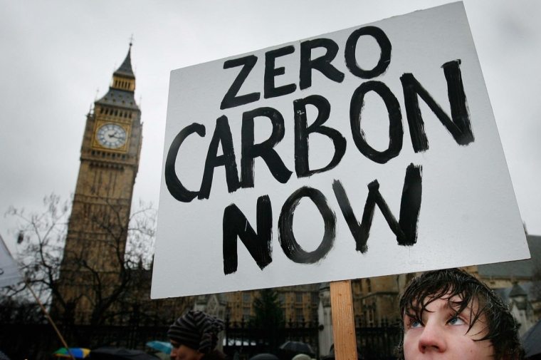 Climate campaigners have called for the government to curb emissions (Photo: Getty)