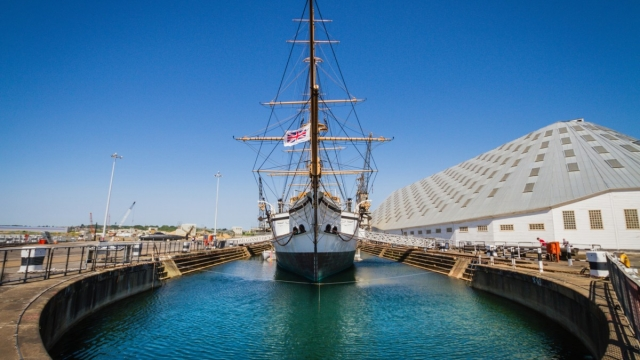 Visitors can learn all about Lord Nelson; discover the largest collection of historic RNLI boats; and explore three historic warships at Chatham Dockyard