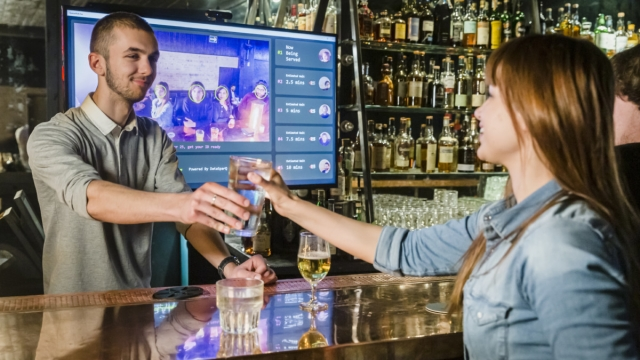 The AI Bar system could be coming to bars and pubs near you (Photo: AIBar)