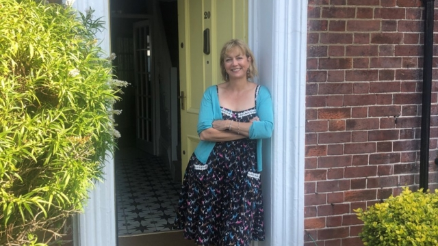Author Louise Voss moved back into her childhood home after her parents died