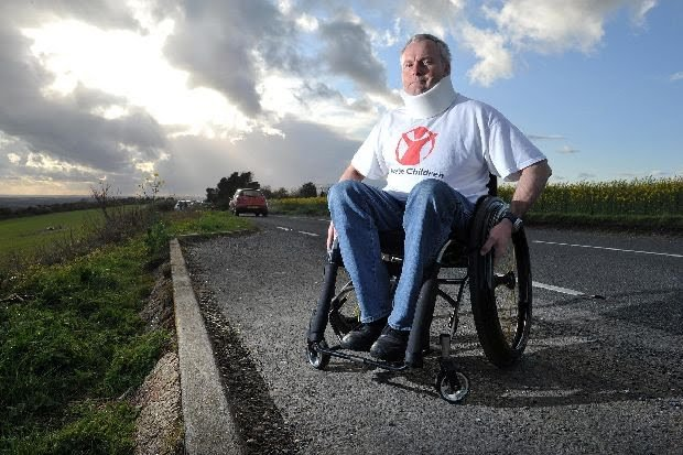 Paul fought back from complete paralysis (Photo: Paul Smith)
