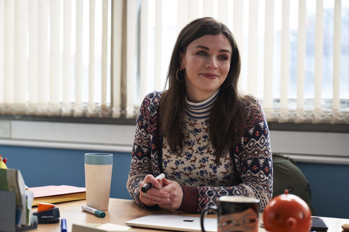 Aisling Bea as Aine in This Way Up Channel 4