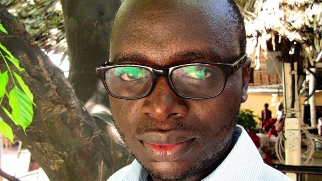 Investigative journalist Erick Kabendera was arrested at the end of July. (Photo: David Astor Journalism Awards Trust)
