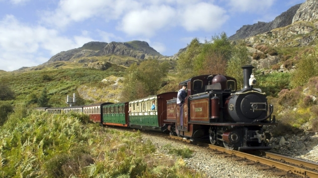 The Ffestiniog Railway is a 19th century route, now preserved as a heritage steam line (Photo: Bob Bloodworth)