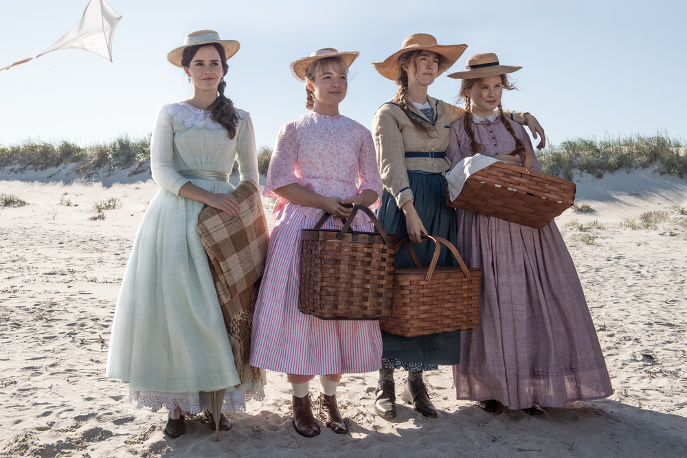 Emma Watson, Saoirse Ronan, Florence Pugh, and Eliza Scanlen in Little Women