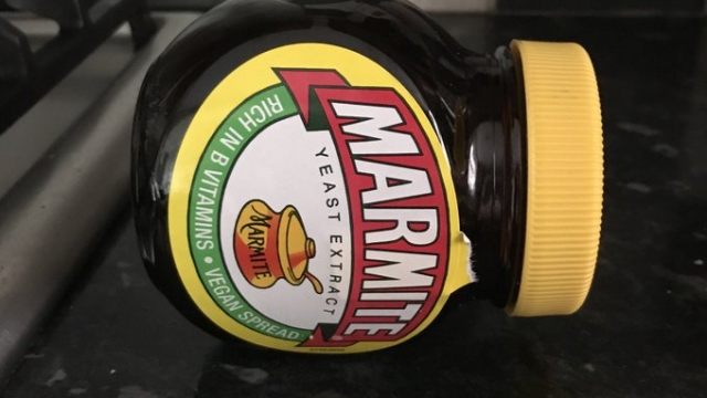 Marmite sideways