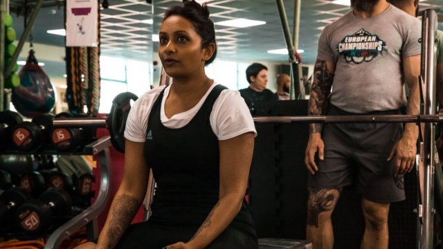 Poorna Bell's BMI is higher since she started weight-training (Picture: Shani Kaplan www.shanicreates.com)
