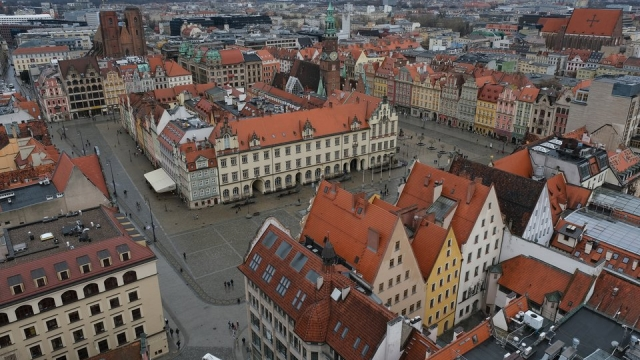 As well as wokring in a chip shop, Ben explored Poland. Pictured: Wroclaw (Photo by Sean Gallup/Getty Images)