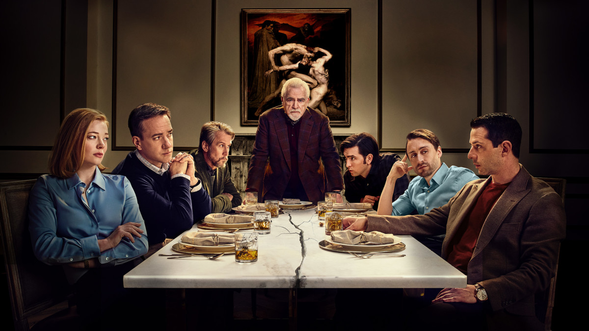 Succession family at the table