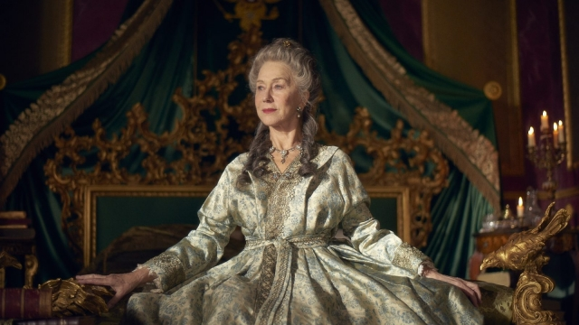 'I wish I had been young enough to play the young Catherine'. Helen Mirren stars as Catherine the Great in the new mini-series