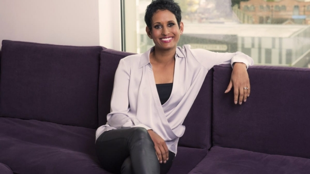Naga Munchetty said she was 'absolutely furious' with Donald Trump over his comments (Photo: Steve Schofield/BBC)