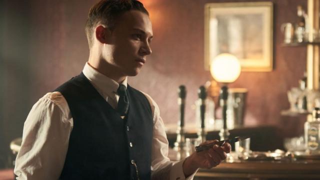 Finn Cole as Michael in Peaky Blinders series 5