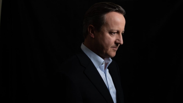 David Cameron's new book is being serialised (Photo: Richard Ansett/BBC)