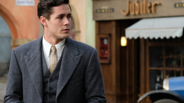Article thumbnail: Harry Chase (JONAH HAUER-KING) on location in World On Fire