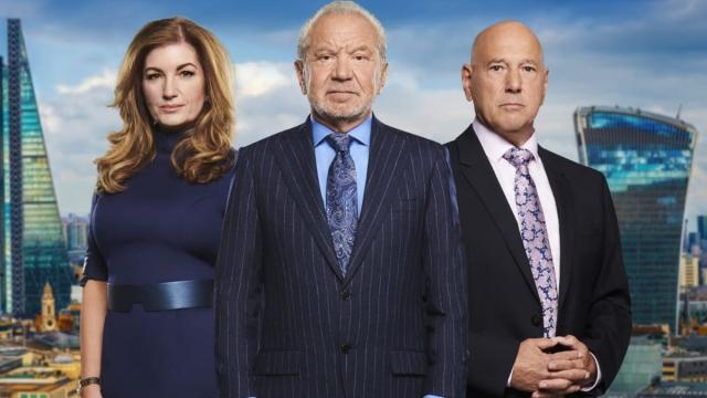 Baroness Brady, Lord Alan Sugar, Claude Littner on The Apprentice 2019