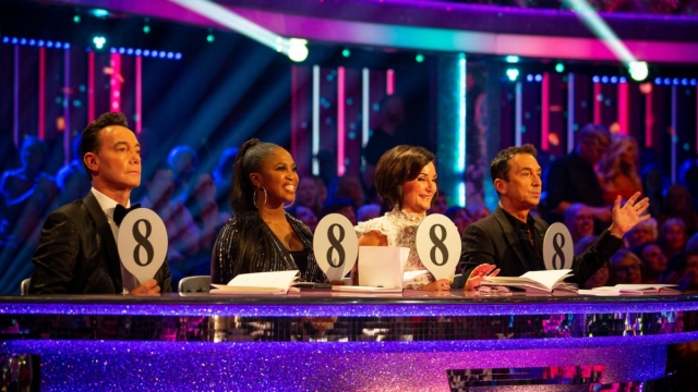 Motsi Mabuse joined Craig Revel Horwood, Shirley Ballas and Bruno Tonioli on the judging panel. Photo: BBC/ Guy Levy