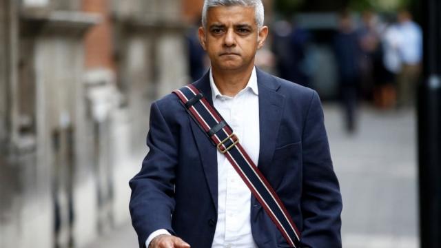 London mayor Sadiq Khan urged DSEI organisers to reconsider their venue next time (Photo: Reuters)