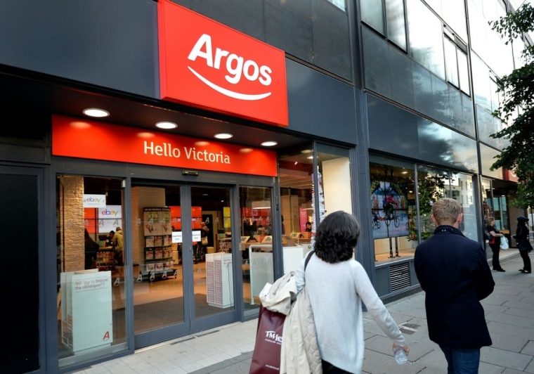 An Argos store in London, now joined with a Sainsbury's (Photo: John Stillwell/PA Wire)