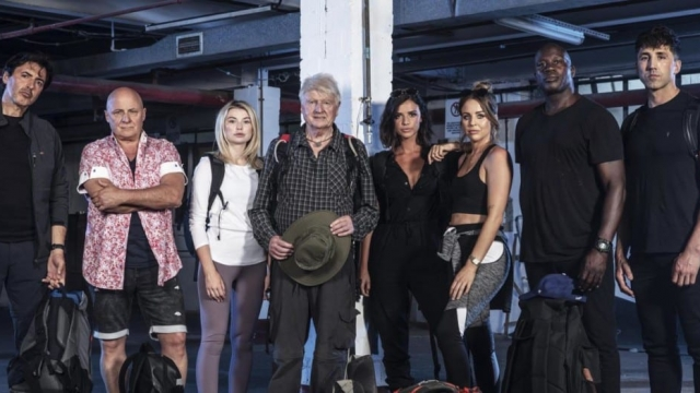 Article thumbnail: The cast of Celebrity Hunted