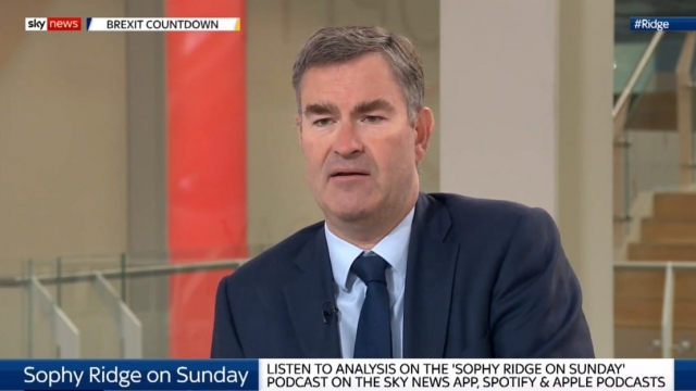 David Gauke told Sky News' Sophy Ridge on Sunday that he is prepared to put the 'national interest' first