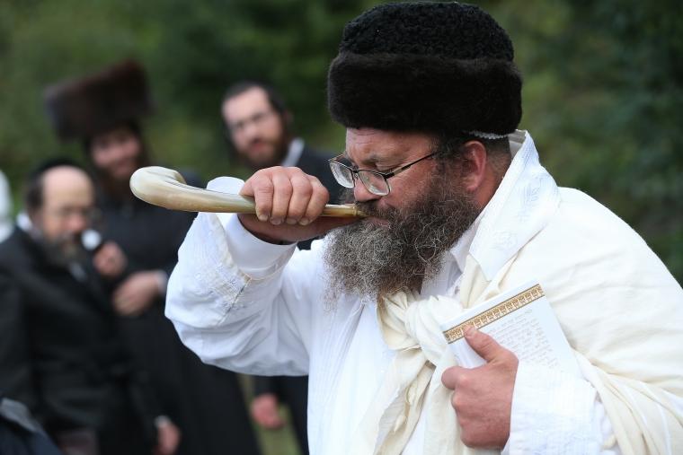 Hasidic Jews Gather In Uman For Rosh Hashanah