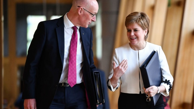 Article thumbnail: John Swinney said the named person scheme 'will now not happen' (Photo: Getty)