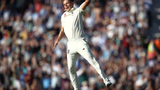 Article thumbnail: Sam Curran erupted across the Oval like a starburst with three wickets in the late afternoon
