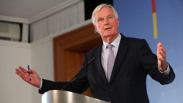 Michel Barnier is the EU's chief negotiator on Brexit