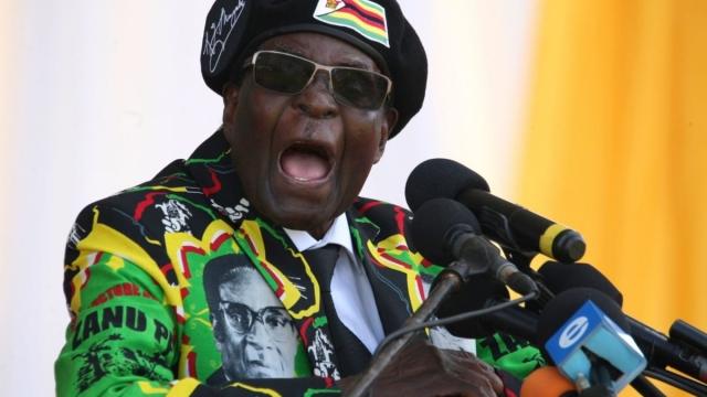 Mugabe death