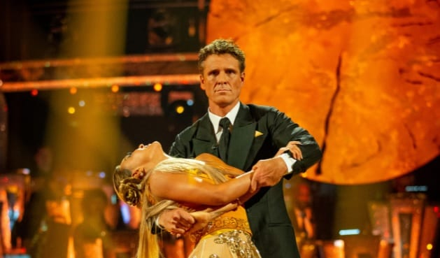 Article thumbnail: James Cracknell on Strictly Come Dancing 2019