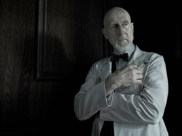 James Cromwell as Dr Arthur Arden in American Horror Story Asylum