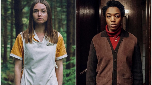 Jessica Barden as Alyssa and Naomi Ackie as Bonnie in End of the F***ing World series 2