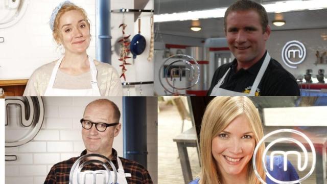 Past winners of Celebrity MasterChef