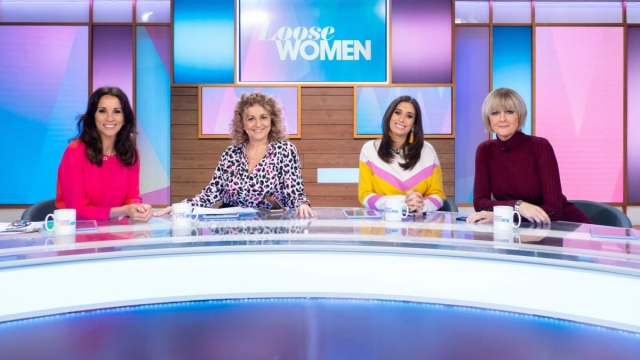 Andrea McLean, Nadia Sawalha, Stacey Solomon and Jane Moore on Loose Women (Photo: ITV/Ken McKay)