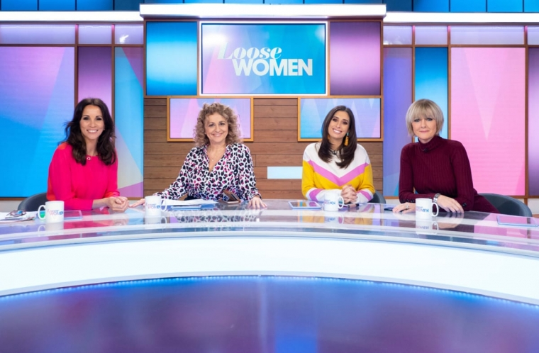 Andrea McLean, Nadia Sawalha, Stacey Solomon and Jane Moore on Loose Women (Photo: ITV/Ken McKay)