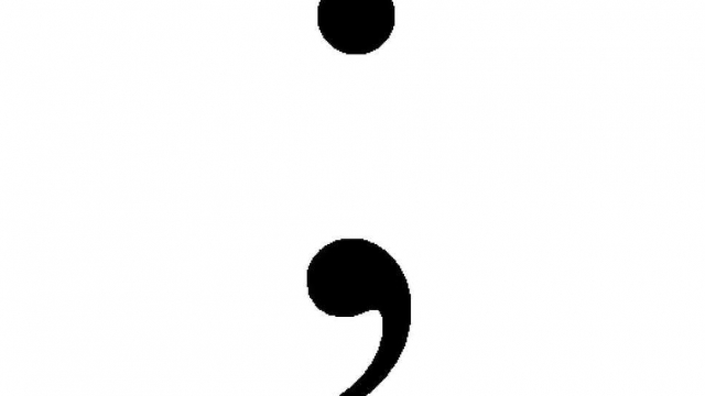 Kurt Vonnegut and George Orwell were not fans of the semicolon